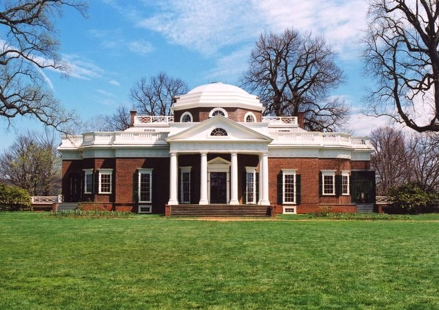 Nearby: An architectural masterpiece, Thomas Jefferson's Monticello.